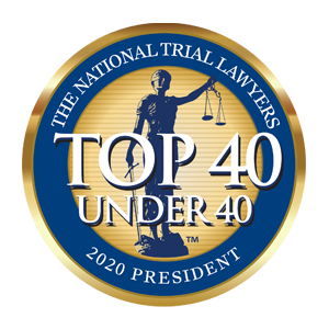 Top 40 Under 40 The National Trial Lawyers 2020 President